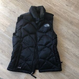 used north face 550 puffer vest